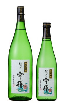 純米吟醸 「花」越乃雪椿1800ml
