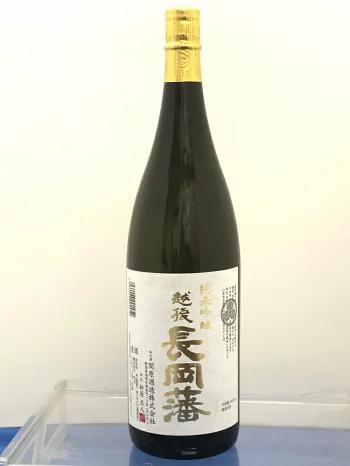 越後長岡藩 純米吟醸酒720ml