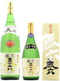 越の鹿六 純米吟醸1800ml