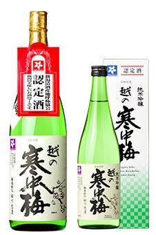 越の寒中梅 純米吟醸1800ml
