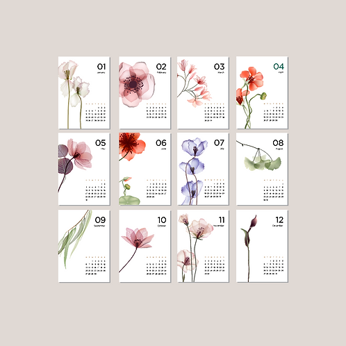 Lay-out Kalender