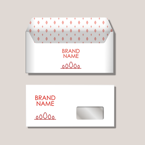 Lay-out Briefpapier en Envelop