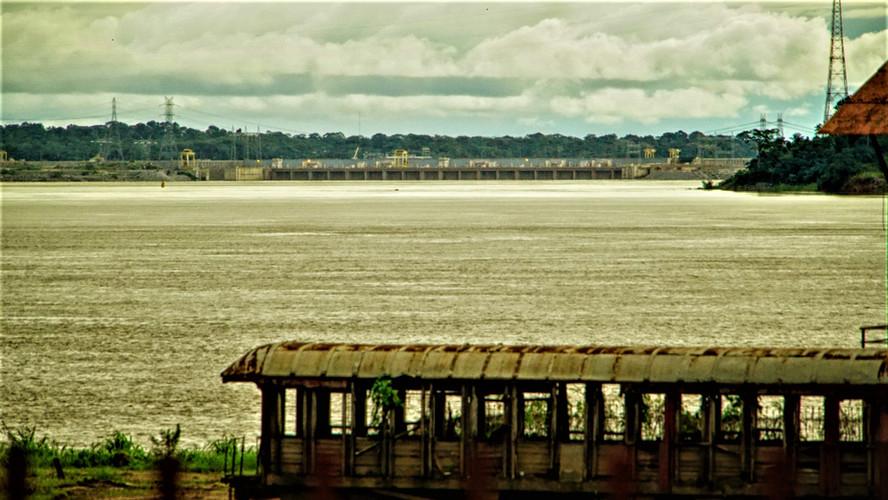 ...um trem que a Amazônia não viu