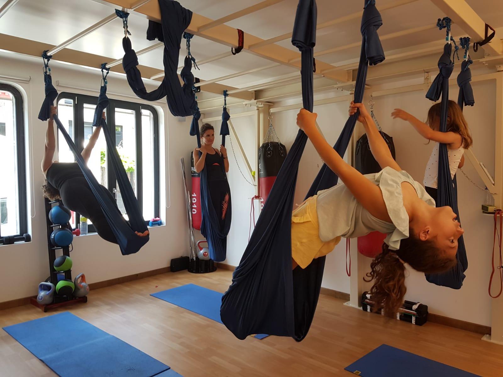 Yoga aérien 7 ans / 16 ans