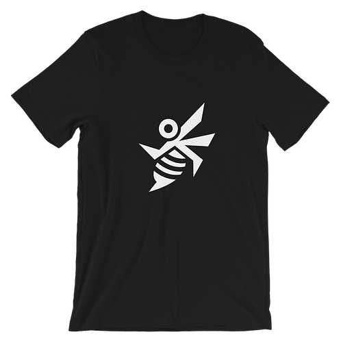 Okayyy Bee - Short-Sleeve Unisex T-Shirt (Black)