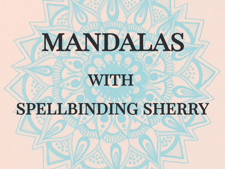 Mandala workshop at Hawkfest Drum and Dance Yule Festival 2019