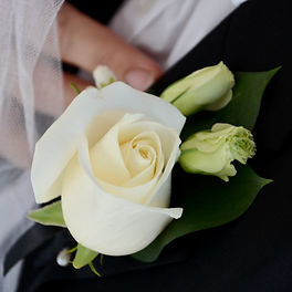 FlowerWise White Buttonhole