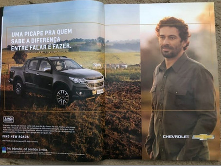 Campanha publicitária Chevrolet Picape S10