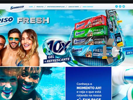 Fresh Embalagem e Web Site