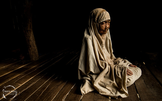 Cham Woman Portrait