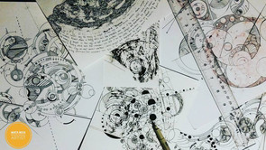 Ink Drawings Interrupted
