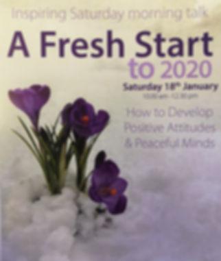 A FRESH START TO 2020