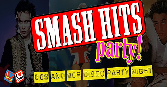80s SMASH HITS PARTY