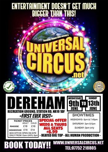 Universal Circus Flyer