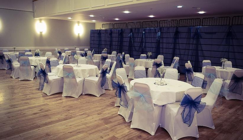 Wedding Set-up in Main Hall