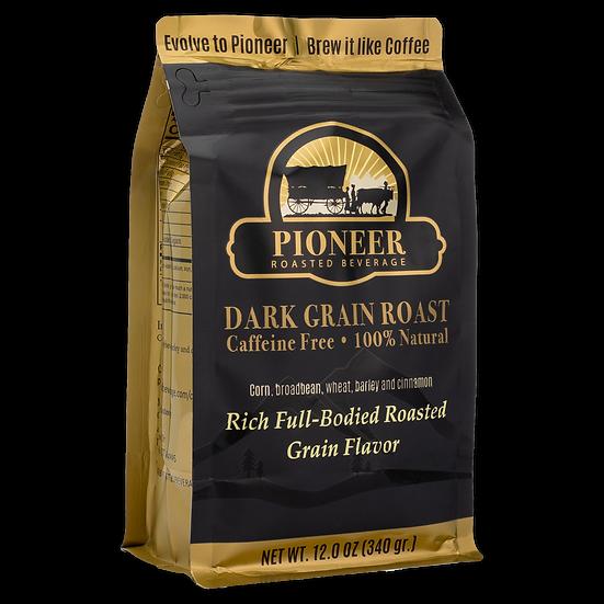 Pioneer Roasted Beverage Dark Grain Roast 12 OZ.