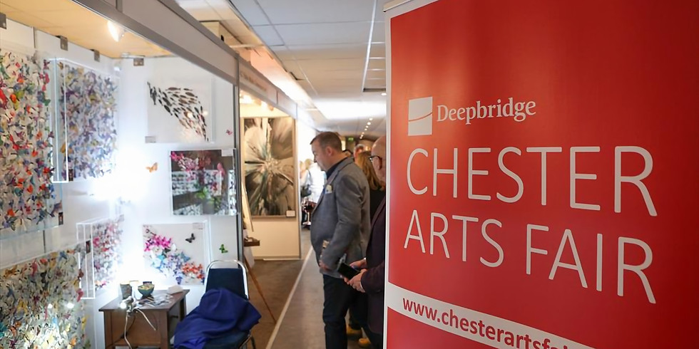 CHESTER ARTS FAIR 2021  Friday November 12th (preview) Saturday 13th and Sunday 14th Exhibition open to visitors