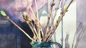 Art is an escape by Liz Bolloten