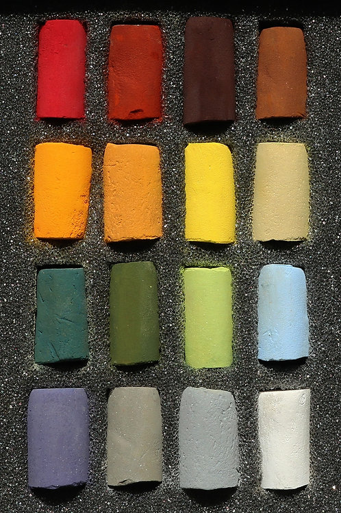 UNISON PASTELS - Exclusive Range of 16 AUTUMN Colours
