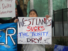 Tribes and Fishermen Rally Against Trump Water Grab