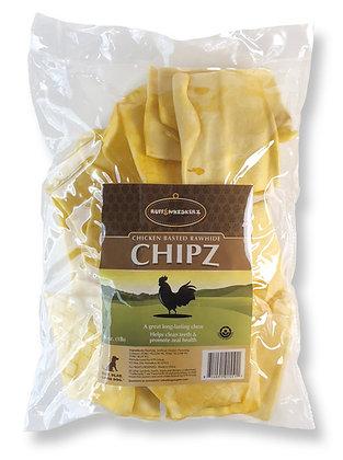 Ruff & Whiskerz Chicken Basted Rawhide Chipz