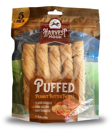 Harvest Moon Puffed PB Twists