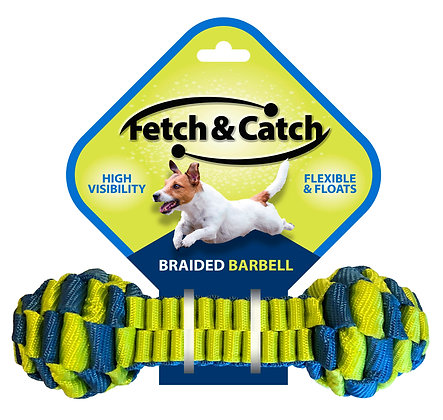 Fetch & Catch Braided Dumbell