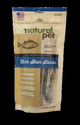Natural Pet Fish Skin Stix