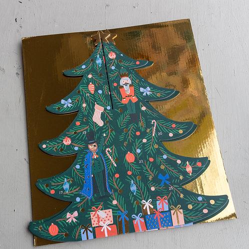 Rifle Paper Co. Christmas Tree Advent Calandar