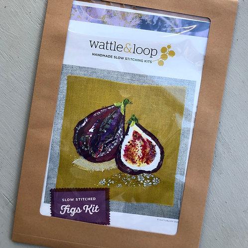 Figs Slow Stitching Kit