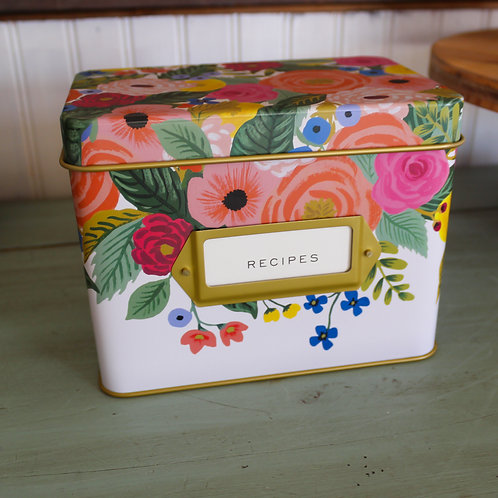Rifle Paper Juliet Recipe Box