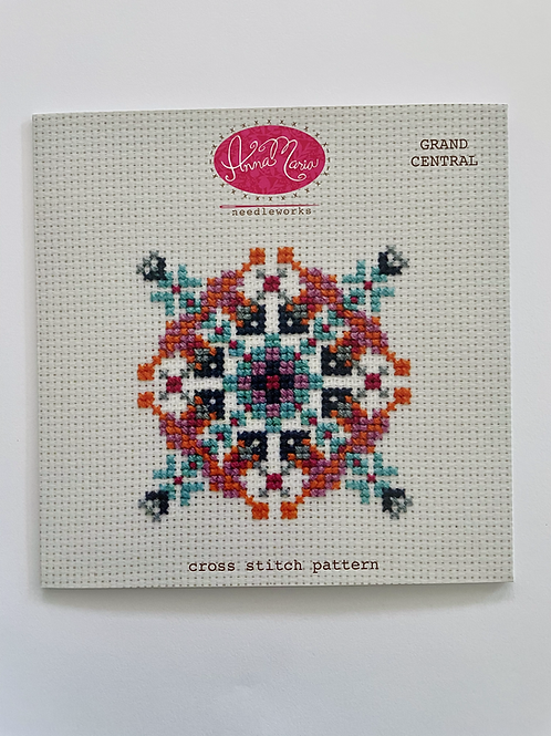 Grand Central Cross Stitch Pattern
