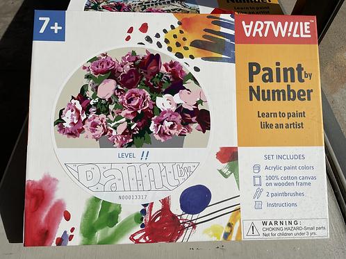 Roses Paint-by-Number