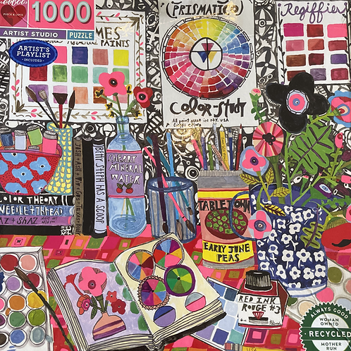 Artist Studio 1000 Piece Puzzle