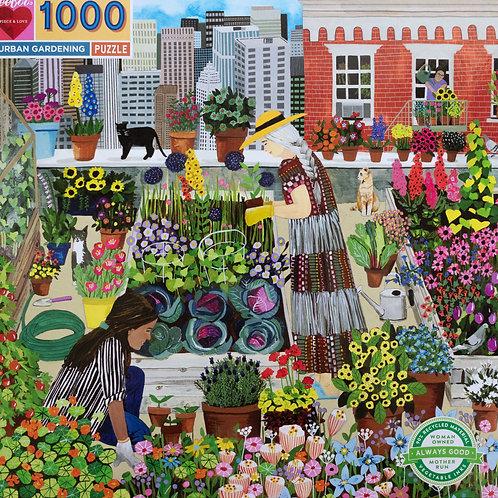 Urban Garden 1000 Piece Puzzle
