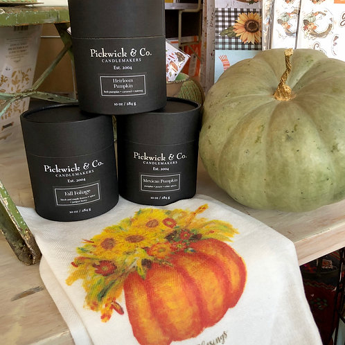 Fall Pickwick & Co. Candles