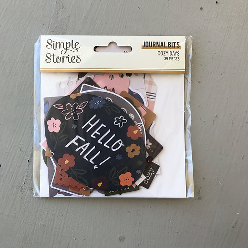 Simple Stories Cozy Days Journal Bits