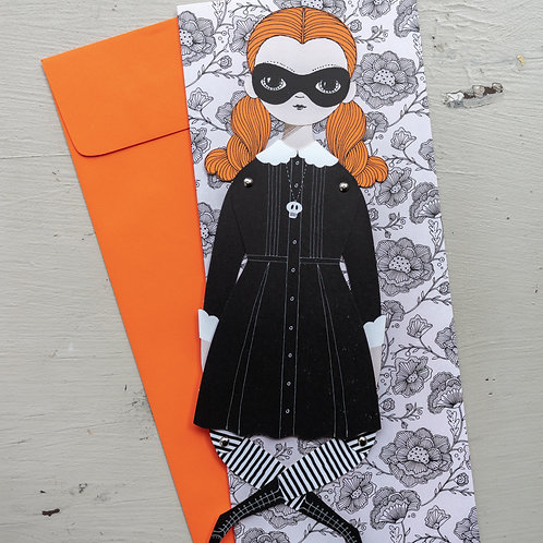 Wednesday Paper Doll