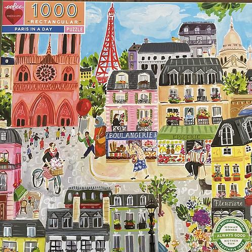 Paris In A Day 1000 Piece Puzzle