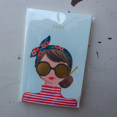 Rifle Paper 2021 Type A Pocket Planner