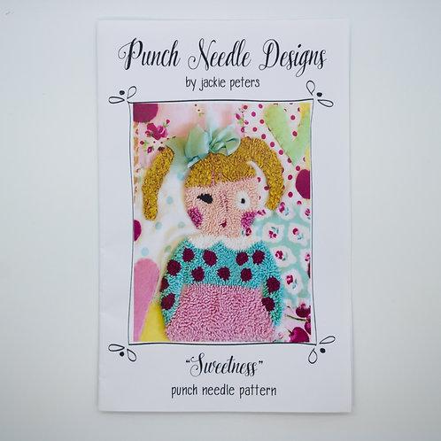"Jackie Peters ""Sweetness"" Punch Needle Pattern or Kit"