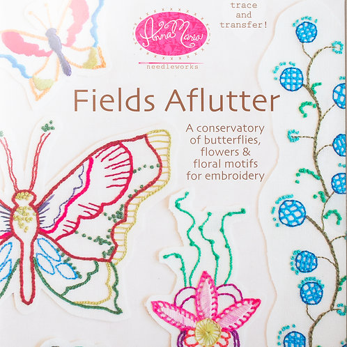 AMH Fields Aflutter Embroidery Transfer Patterns