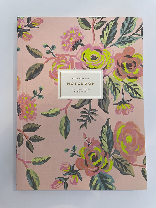 Rifle Floral Notebook
