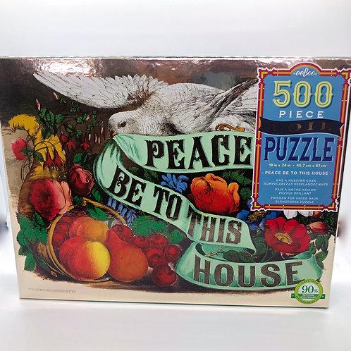 Peace Foil 500 Piece Puzzle
