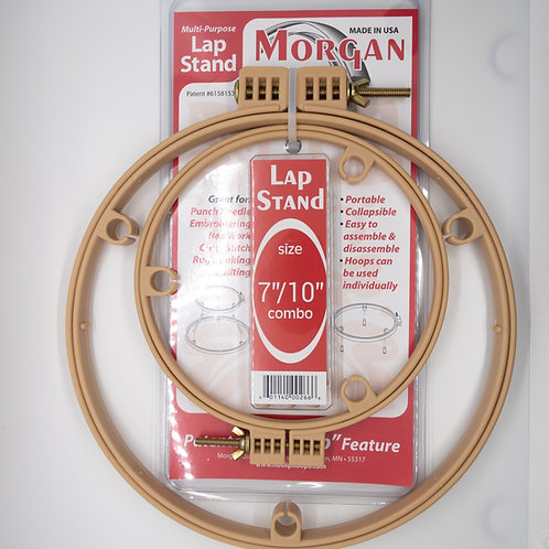 """7""""/10"""" Non-Slip Lap Stand Hoops"""
