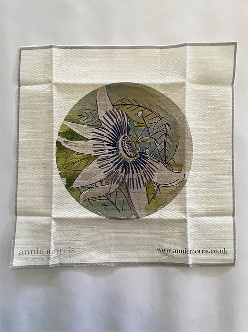 Passion Flower Embroidery Pattern