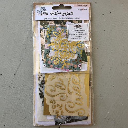 Marigold Ephemera