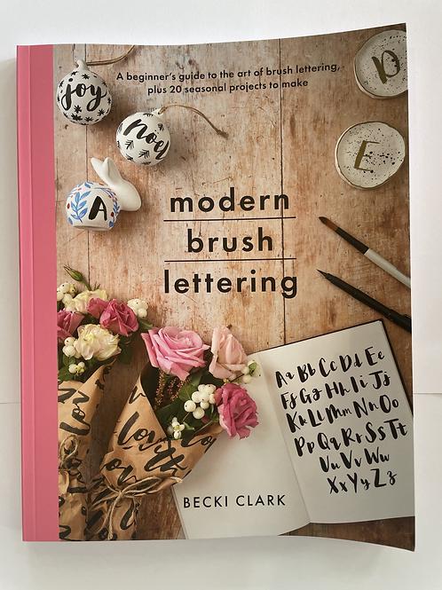 Modern Brush Lettering