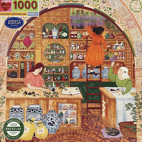 Ancient Apothecary 1000 Piece Puzzle