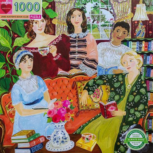 Jane Austen's Book Club 1000 Piece Puzzle